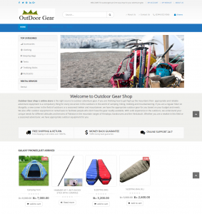 Outdoor Adventure Gear Shop